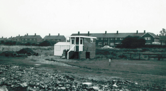 1st toilet block 1968