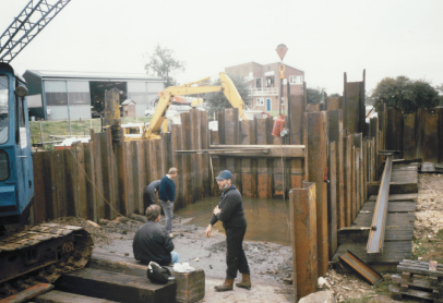1992 saw the new slipway.