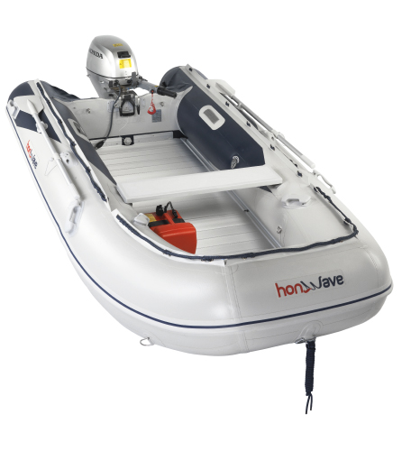 Honwave T35-AE2 Aluminium decked inflatable boat for sale
