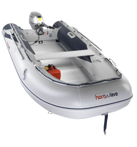 Honwave T40-AE2 Aluminium decked inflatable boat for sale